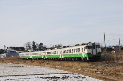 キハ48の4連(石巻線/前谷地-涌谷)