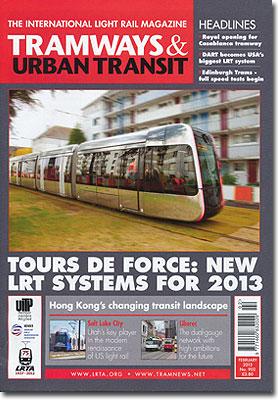 TRAMWAYS&URBANTRANSIT/2013年2月号