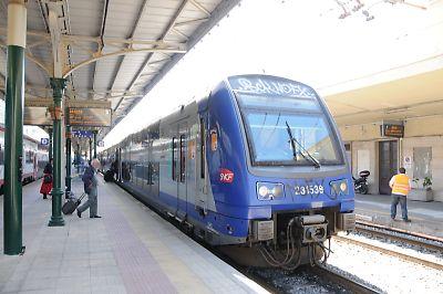 SNCF・Z23500交直流電車(ヴェンティミーリア駅)