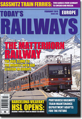 Today's railways Europe 2013/02 No.206