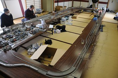 みちのく鉄道応援団×バス友の会東北Nゲージ運転会