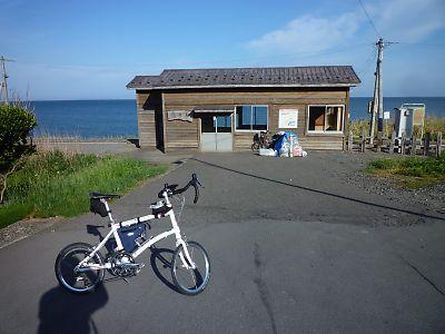 【自転車】[輪行]五能線~津軽半島ツーリング(深浦/十三湖/津軽中里)