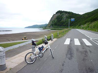 【自転車】[輪行]津軽半島縦断その2(小泊/竜飛岬/三厩/蟹田)
