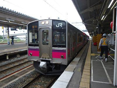 津軽線始発323M