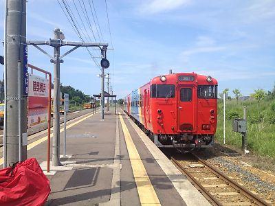 臨時列車「快速まさかり」