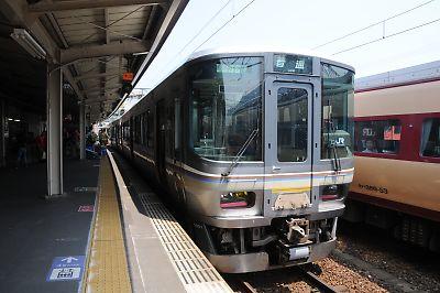 223系(城崎温泉駅)