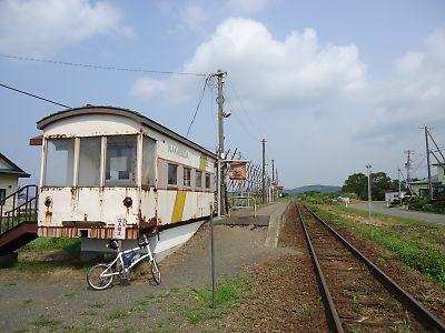 JR江差線・中須田駅