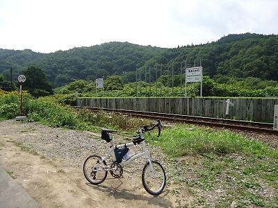 JR江差線・天の川駅