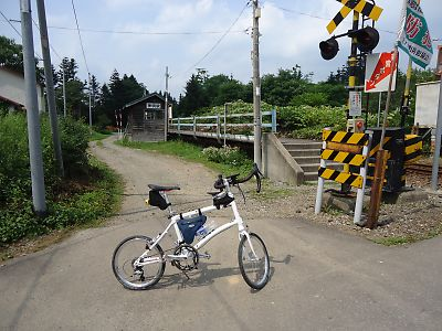JR江差線・神明駅