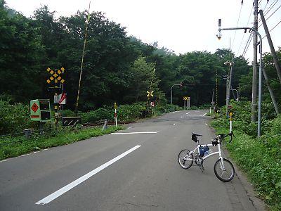 道道5号江差線踏切