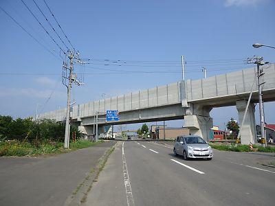 木古内駅付近