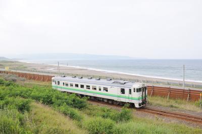 JR江差線(江差-上ノ国間)