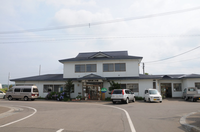 JR江差線・上ノ国駅