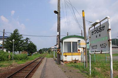 JR江差線・桂岡駅