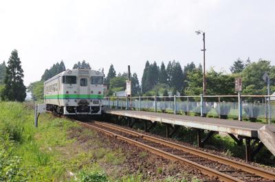 JR江差線・渡島鶴岡駅