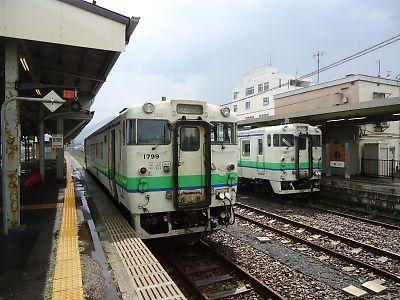 キハ40(森駅)