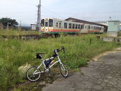 山形鉄道とDAHON DASH X20