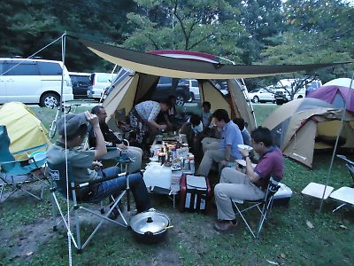 Dahon Dash X20で1泊キャンプ