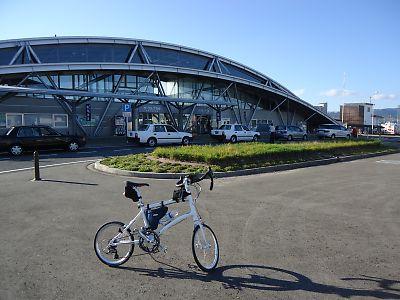 国道399号で鳩峰峠(伊達駅→赤湯駅)byDAHON DASH X20&タイレル・FSX