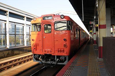 因美線キハ47(鳥取駅)