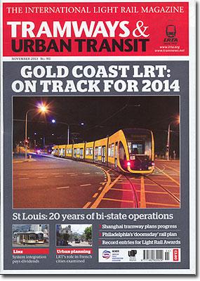 TRAMWAYS&URBANTRANSIT/2013年11月号