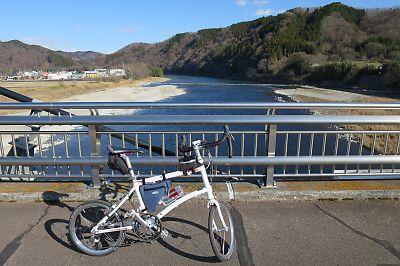 [輪行]那珂川県境ツーリングby DAHON DASH X20