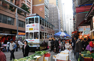 香港トラム・北角
