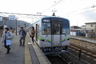 井原鉄道・清音駅