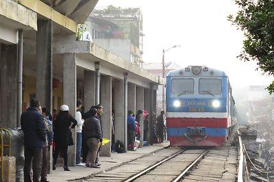 ハノイ・ロンビエン駅