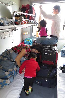 ハノイからTN1列車でフエへ