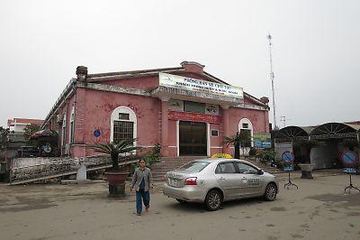 <br/>ベトナムの鉄道・フエ駅<br/>