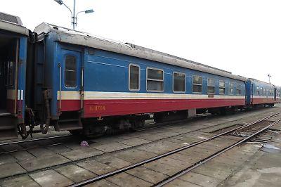 ベトナムの鉄道(ソフトベッドクラス)