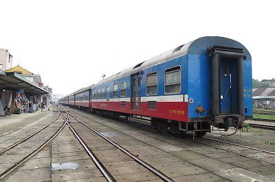 ベトナムの客車