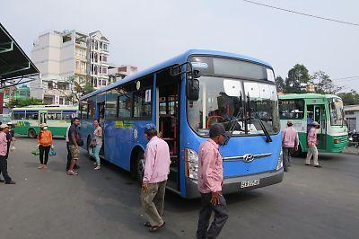 ベトナムの路線バス