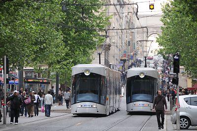 マルセイユのLRT(LRV)