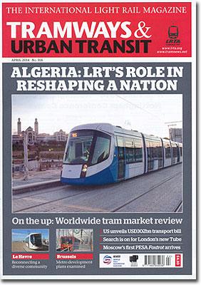 TRAMWAYS&URBANTRANSIT/2014年4月号