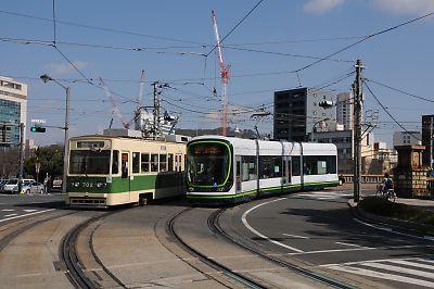 広島電鉄・的場町