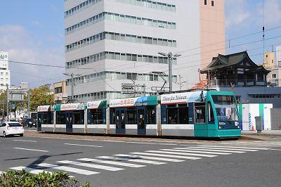 広島電鉄5000形グリーンムーバー