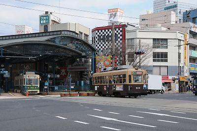 広島電鉄・横川駅