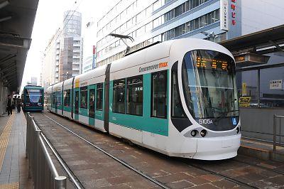 広島電鉄5100形(紙屋町東)