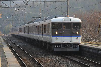 115系(呉線・安登駅)