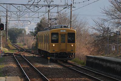 105系(呉線・須波駅)