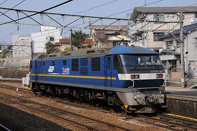 EF210-300番台(西条駅)
