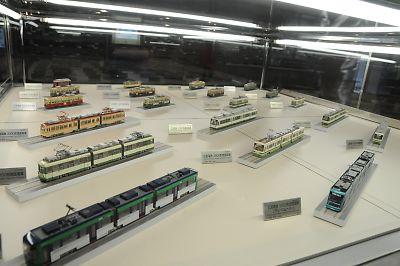 広島交通科学館の模型