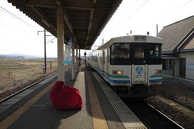 阿武隈急行・梁川駅