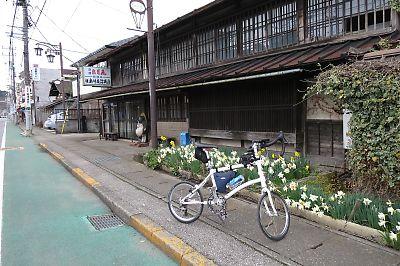 真岡線のSL列車に輪行(白河―茂木)by Dahon Dash X20