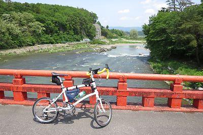 みちのく自転車道経由白河から二本松byDAHON DASH X20