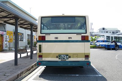 JRバス関東 車体番号:L538-02503 登録番号:福島200 か 1707