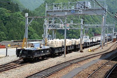 (黒部峡谷鉄道・宇奈月駅)