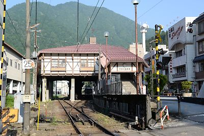 富山地鉄・宇奈月温泉駅